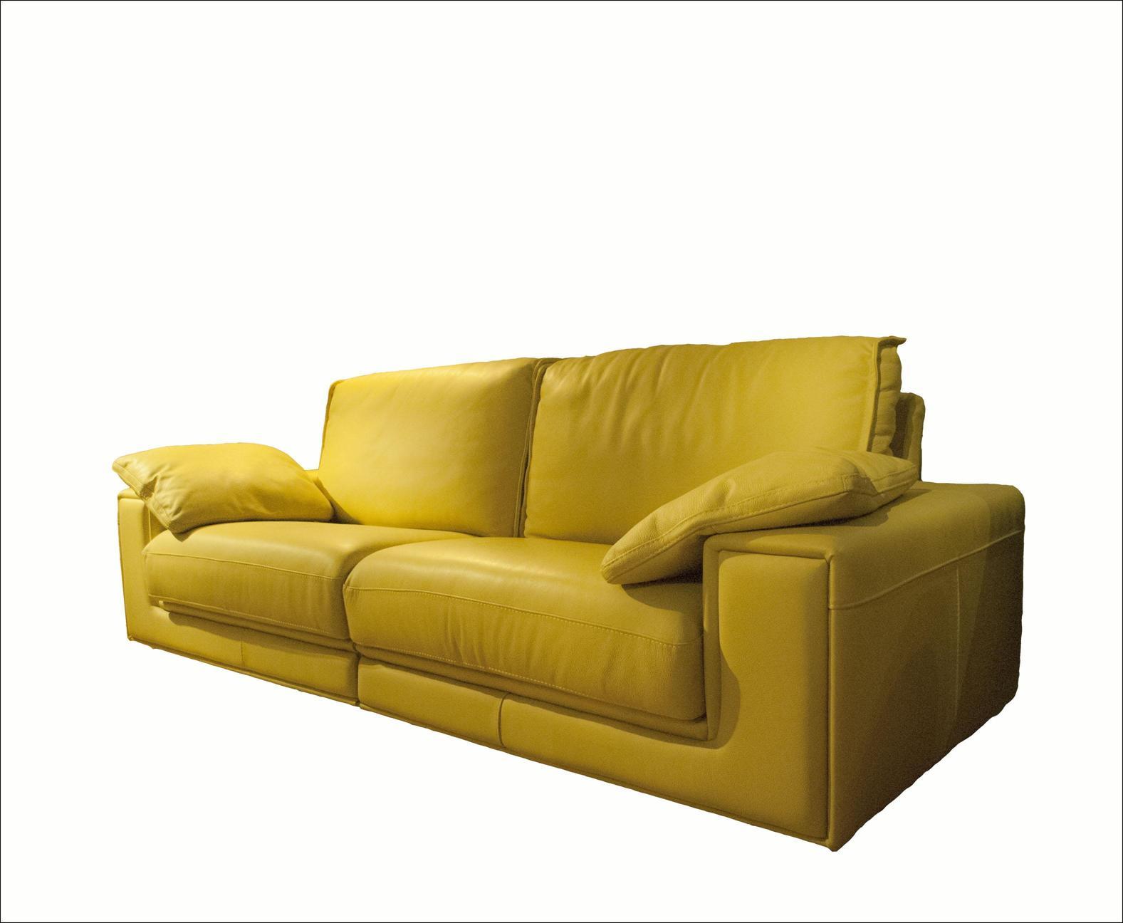 Sof de piel pistacho for Ofertas de sofas en piel
